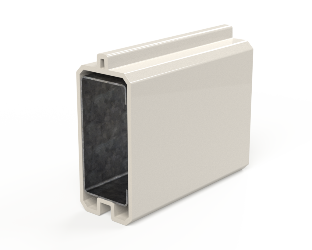 STRUCTURAL PANEL - Smooth panel for reflective noise applications.