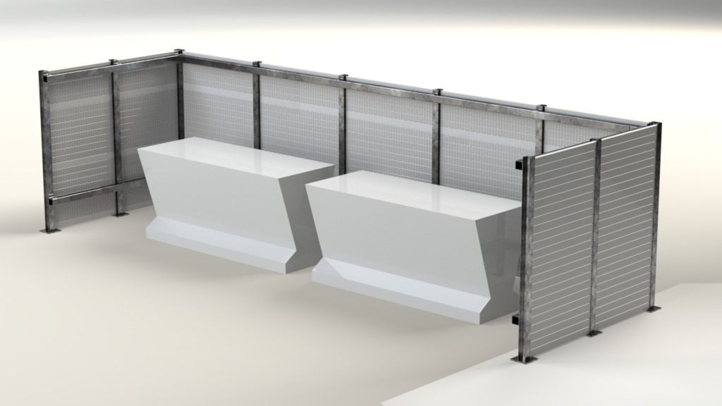 Rooftop Noise Barrier - PVC 2 (1)