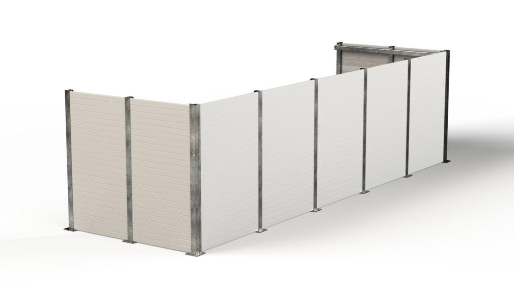 PVC Rooftop Screen