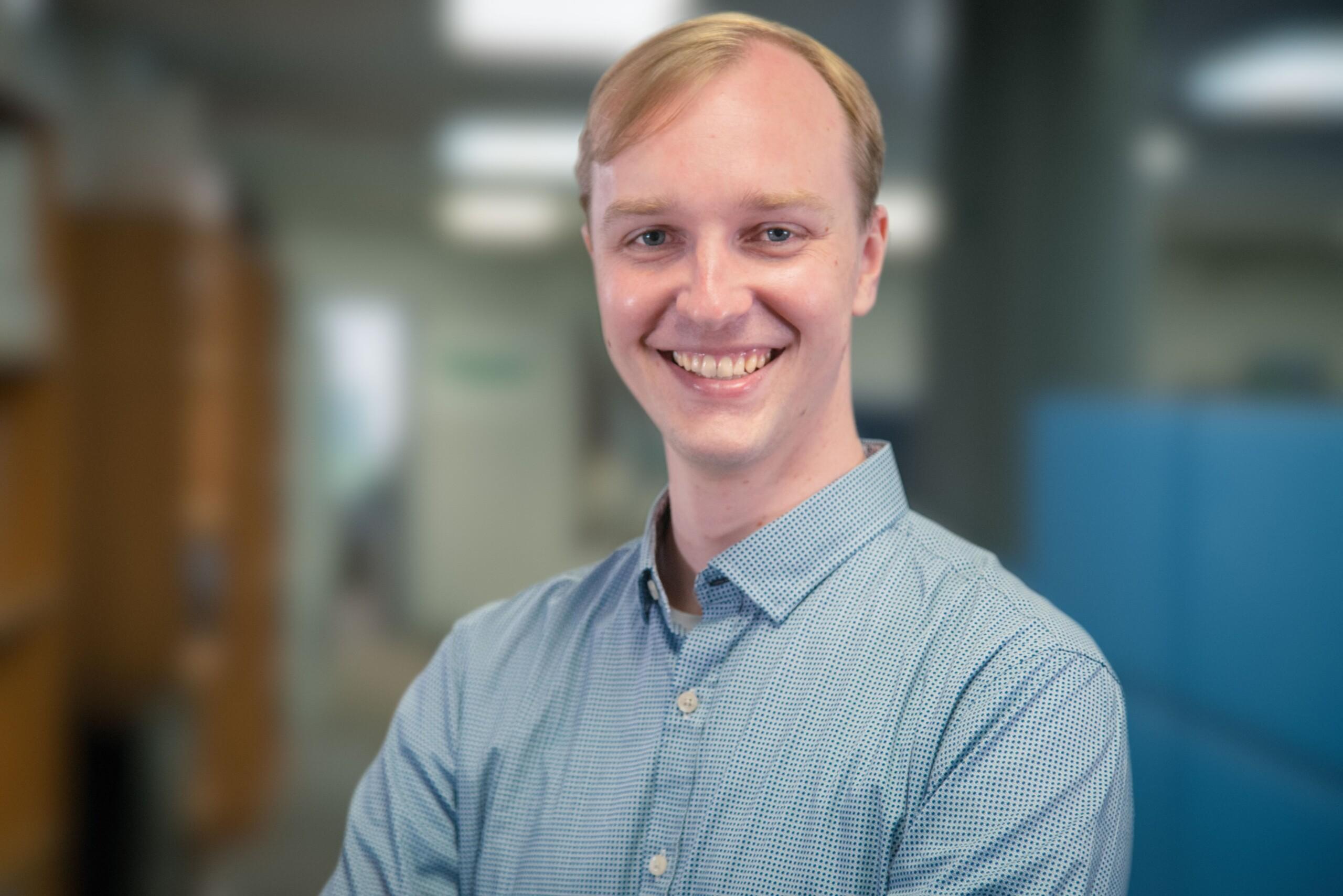 Mac Readhead, Durisol's Product Development Manager.